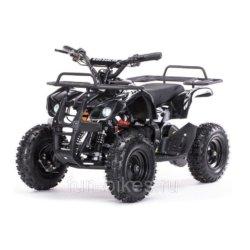 Детский квадроцикл на аккумуляторе MOTAX Mini Grizlik Х-16 мощностью 800W черный (пульт контроля, до 30 км/ч)