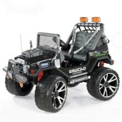 Электромобиль Peg-Perego Gaucho SuperPower NEW (2х местный, колеса резина, скорость до 10 км/ч, музыка)